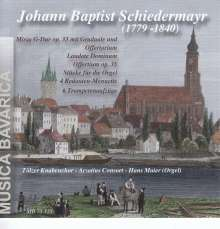 Johann Baptist Schiedermayr (1779-1840): Messe in G op.33, CD
