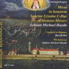 Michael Haydn (1737-1806): Missa in honorem Sanctae Ursulae, CD