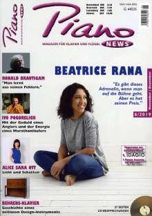 Zeitschriften: PIANONews - Magazin für Klavier & Flügel (Heft 6/2019), Zeitschrift
