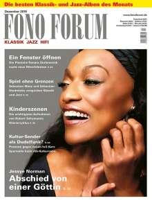 Zeitschriften: FonoForum Dezember 2019, Zeitschrift