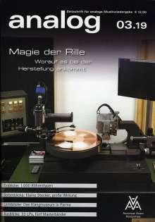 Zeitschriften: analog - Zeitschrift für analoge Musikwiedergabe 03/19, Zeitschrift