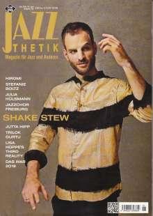 Zeitschriften: Jazzthetik - Magazin für Jazz und Anderes Januar/Februar 2020, Zeitschrift