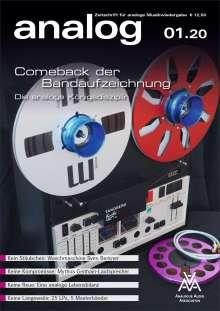 Zeitschriften: analog - Zeitschrift für analoge Musikwiedergabe 01/20, Zeitschrift