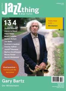 Zeitschriften: JAZZthing - Magazin für Jazz (134) Juli - August 2020, Zeitschrift