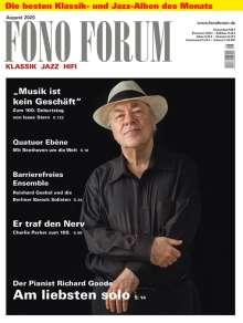 Zeitschriften: FonoForum August 2020, Zeitschrift