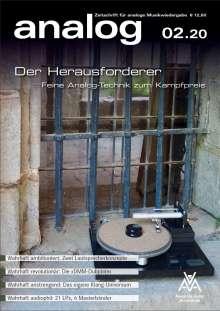 Zeitschriften: analog - Zeitschrift für analoge Musikwiedergabe 02/20, Zeitschrift