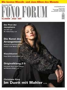 Zeitschriften: FonoForum Dezember 2020, Zeitschrift