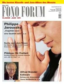 Zeitschriften: FonoForum März 2021, Zeitschrift
