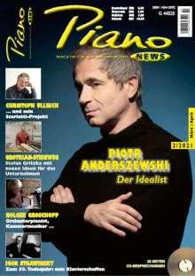 Zeitschriften: PIANONews - Magazin für Klavier & Flügel (Heft 2/2021), Zeitschrift