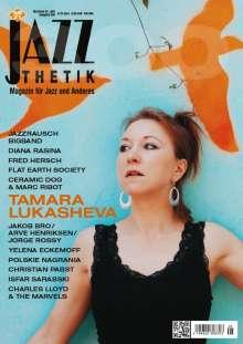 Zeitschriften: Jazzthetik - Magazin für Jazz und Anderes Mai/Juni 2021, Zeitschrift