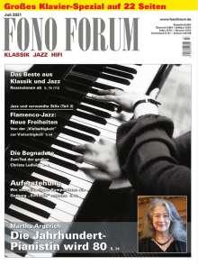 Zeitschriften: FonoForum Juli 2021, Zeitschrift