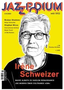 Zeitschriften: JazzPodium 08-09/2021, Zeitschrift