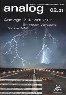 Zeitschriften: analog - Zeitschrift für analoge Musikwiedergabe 02/21, Zeitschrift