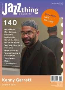 Zeitschriften: JAZZthing - Magazin für Jazz (140) September - Oktober 2021, Zeitschrift
