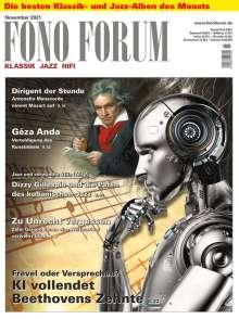 Zeitschriften: FonoForum November 2021, Zeitschrift