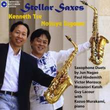 """Musik für Saxophon & Klavier """"Stellar Saxes"""", CD"""