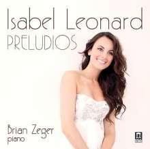 Isabel Leonard - Preludios, CD