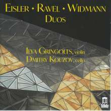 Ilya Gringolts -  Eisler / Ravel / Widmann - Duos, CD
