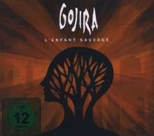 Gojira: L'Enfant Sauvage (Limited-Edition), 1 CD und 1 DVD