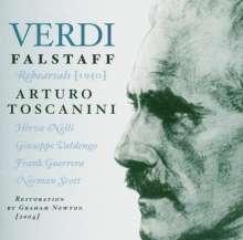Arturo Toscanini probt Verdis Falstaff, 2 CDs
