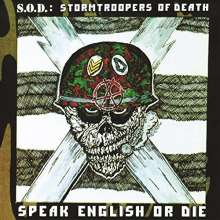 S.O.D. (Stormtroopers of Death): Speak English Or Die (30th Anniversary Edition) (remastered), 2 LPs