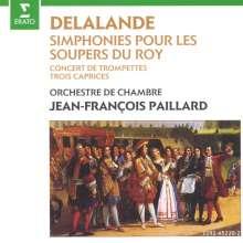 Michel Richard Delalande (1657-1726): Trompetenkonzert für die Versailler Kanalfeste, CD
