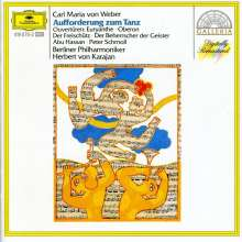 Carl Maria von Weber (1786-1826): Ouvertüren, CD