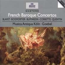 Französische Barockkonzerte, CD