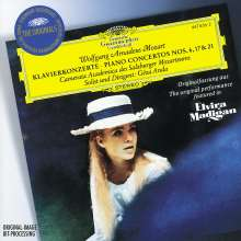 Wolfgang Amadeus Mozart (1756-1791): Klavierkonzerte Nr.6,17,21, CD