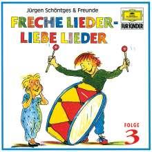 Freche Lieder, liebe Lieder Folge 3, CD