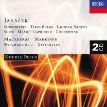 Leos Janacek (1854-1928): Sinfonietta, 2 CDs