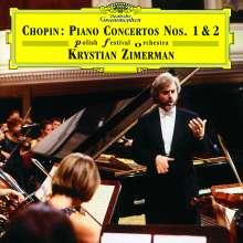Frederic Chopin (1810-1849): Klavierkonzerte Nr.1 & 2, 2 CDs