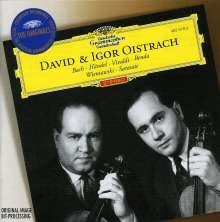 David & Igor Oistrach - Werke für 2 Violinen, CD