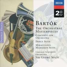 Bela Bartok (1881-1945): Konzert für Orchester, 2 CDs