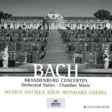 Johann Sebastian Bach (1685-1750): Brandenburgische Konzerte Nr.1-6, 8 CDs