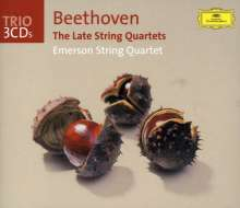 Ludwig van Beethoven (1770-1827): Streichquartette Nr.12-16, 3 CDs