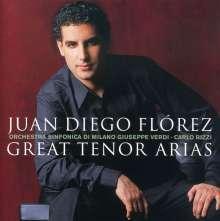 Juan Diego Florez - Great Tenor Arias, CD