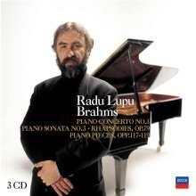 Radu Lupu plays Brahms, 3 CDs