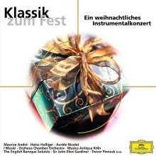 Klassik zum Fest - Weihnachtliches Instrumentalkonzert, CD