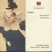 Cesar Franck (1822-1890): Streichquartett D-dur, CD