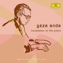 Geza Anda - Troubadour of the Piano, 5 CDs