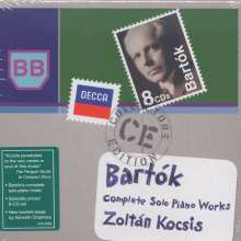 Bela Bartok (1881-1945): Das Klavierwerk, 8 CDs