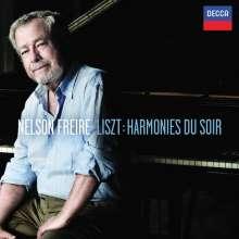 "Franz Liszt (1811-1886): Klavierwerke ""Harmonies du Soir"", CD"