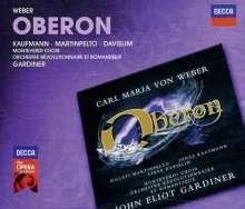 Carl Maria von Weber (1786-1826): Oberon (in engl.Spr.), 2 CDs