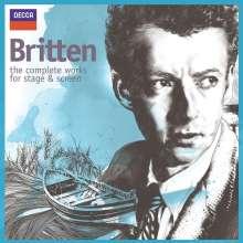 Benjamin Britten (1913-1976): Benjamin Britten  - The Complete Works for Stage and Screen, 12 CDs