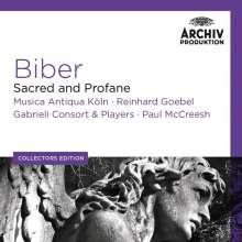 Heinrich Ignaz Biber (1644-1704): Sacred and Profane - Geistliche & weltliche Werke, 7 CDs
