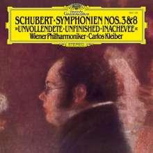 "Franz Schubert (1797-1828): Symphonien Nr.3 & Nr.8 ""Unvollendete"" (180g), LP"