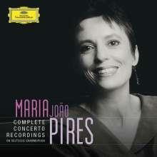 Maria Joao Pires - Complete Concerto Recordings on Deutsche Grammophon, 5 CDs