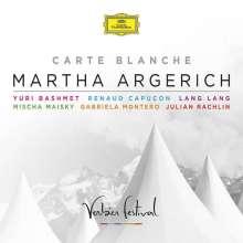 Martha Argerich - Carte Blanche (Verbier Festival 27.7.2007), 2 CDs