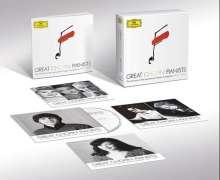 Great Chopin Pianists - Die Gewinner des Chopin-Wettbewerbs Warschau 1927-2010, 11 CDs